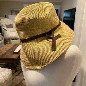 Anthropologie raffia wire rimmed sun hat